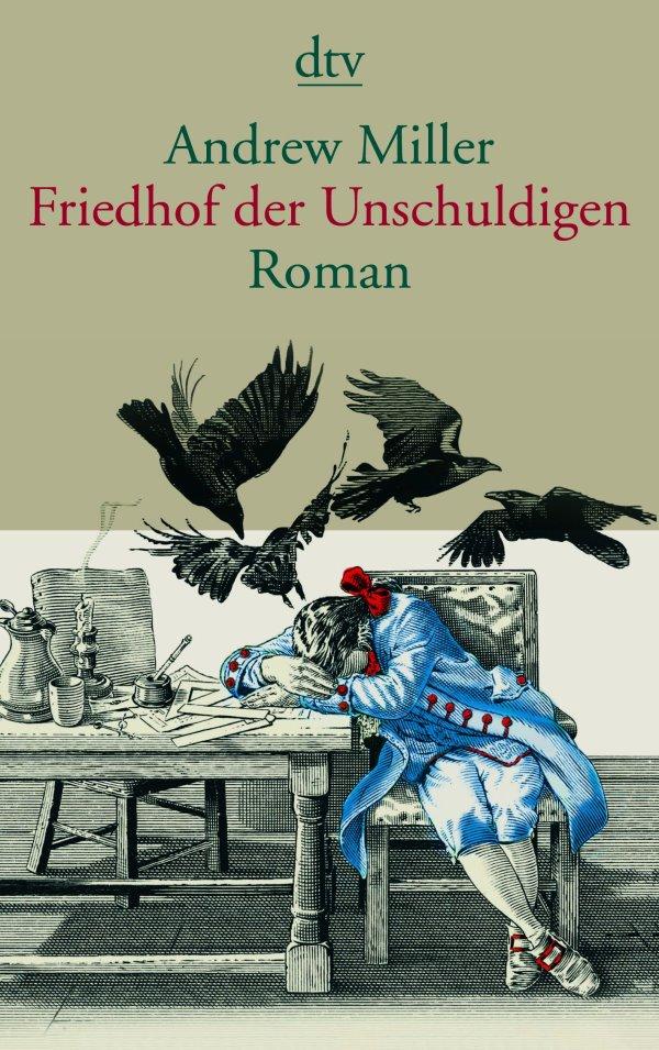 """Das Cover des Romans """"Friedhof der Unschuldigen"""" von Andrew Miller"""