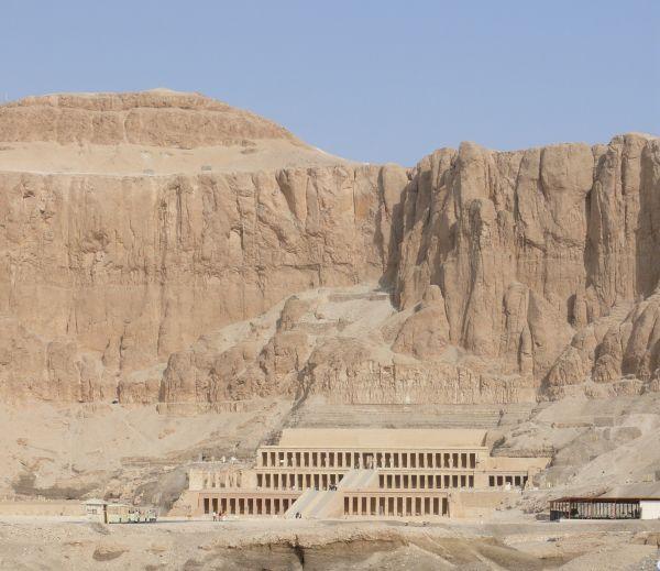 Hatschepsuts Tempel in Deir-el-Bahari