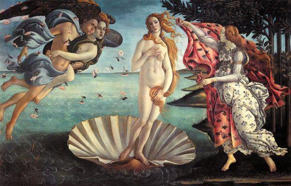 Die Geburt der Venus von Sandro Botticelli