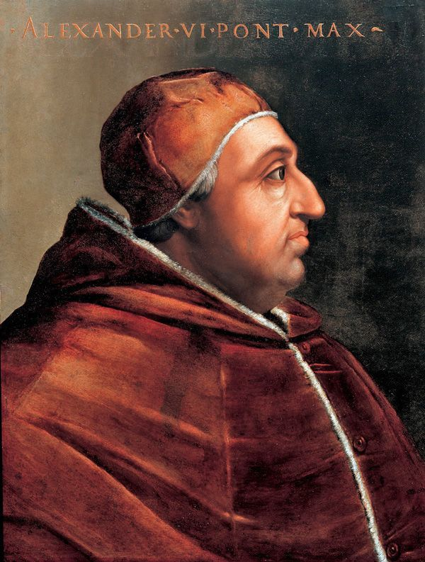 Bildnis Papst Alexanders VI.