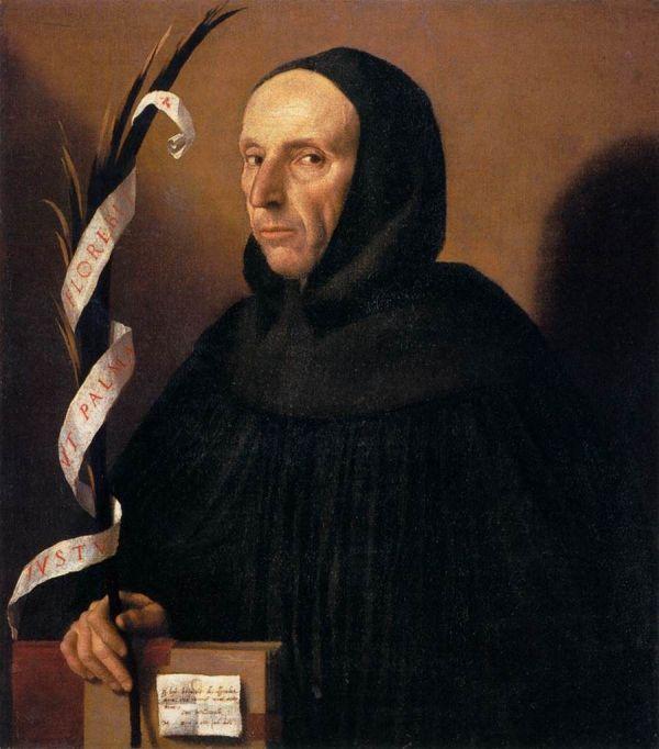 Portrait, das vermutlich Girolamo Savonarola zeigt