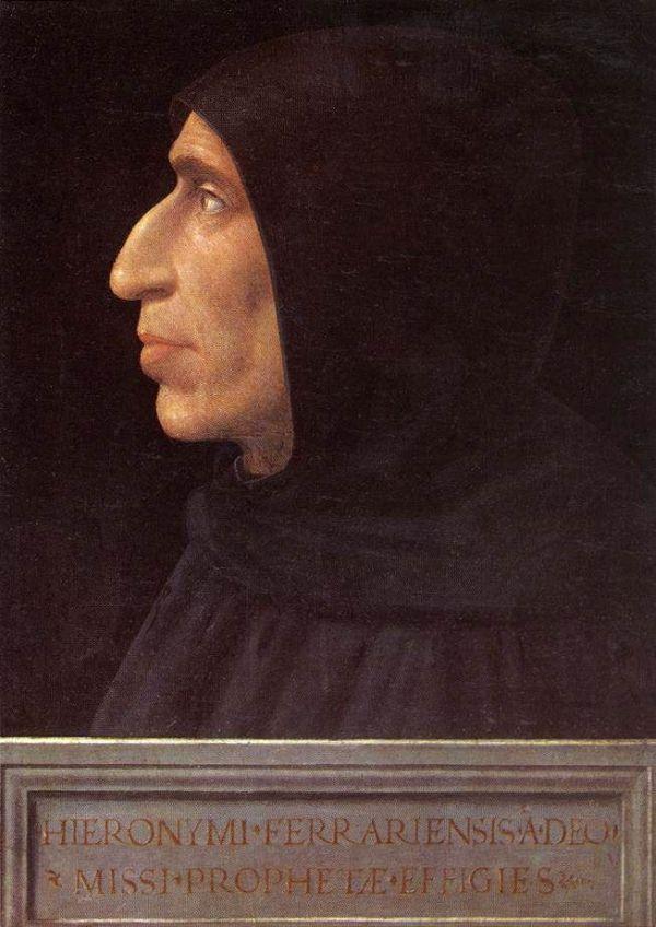 Girolamo Savonarola von Fra Bartolomeo