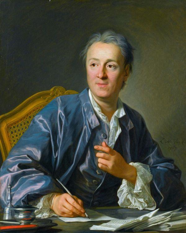 Gemälde von Denis Diderot