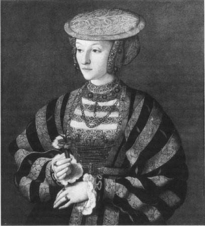 Anna von Kleve von B. Bruyn