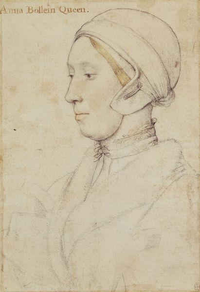 Mögliche Skizze von Anne Boleyn.