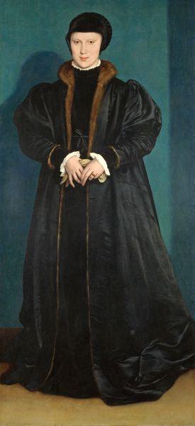 Christina von Schweden von Hans Holbein
