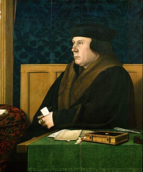 Thomas Cromwell von Hans Holbein