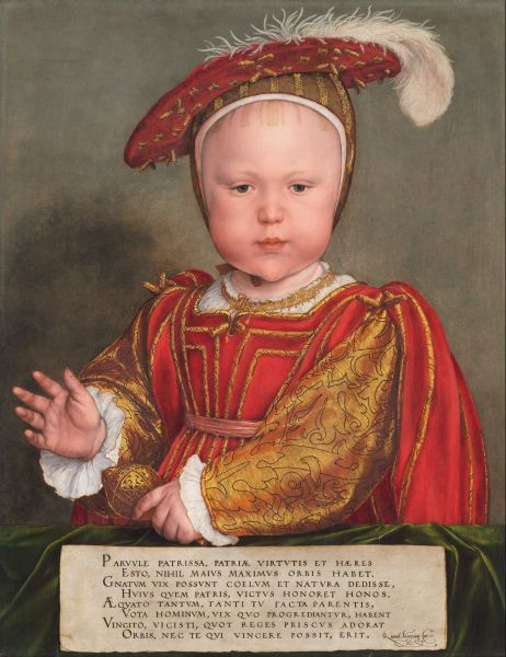 Edward VI. von Hans Holbein