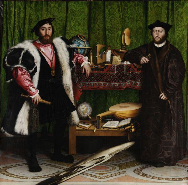 Die Gesandten von Hans Holbein