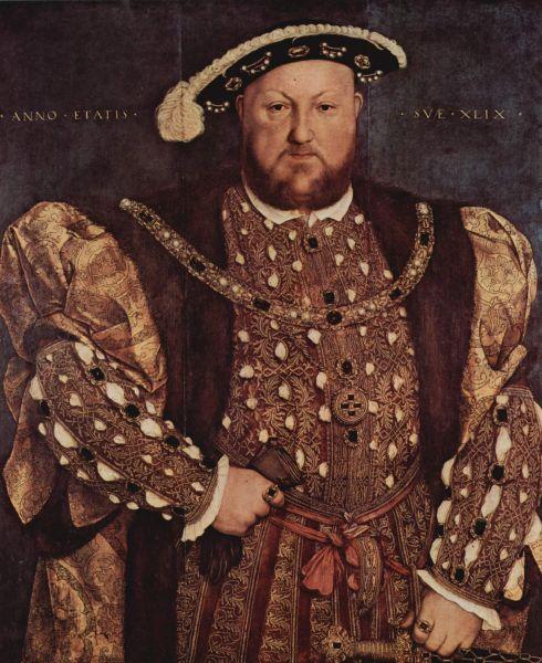 Heinrich VIII. nach Hans Holbein