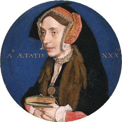 Margaret Roper More von Hans Holbein