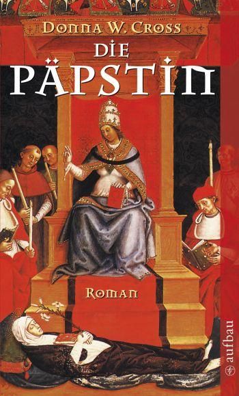 """Cover des Romans """"Die Päpstin"""" von Donna W. Cross"""