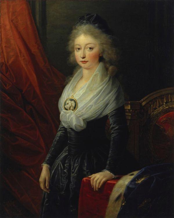 Marie Thérèse, Tochter von Louis XVI. und Marie-Antoinette von Frankreich