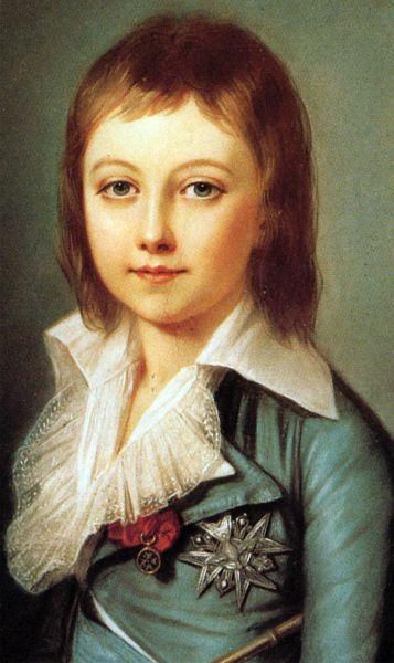 Der Dauphin Louis Charles von Frankreich