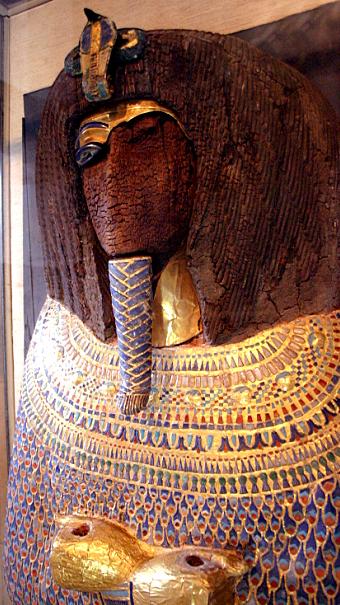 Sarg von Pharao Echnaton.