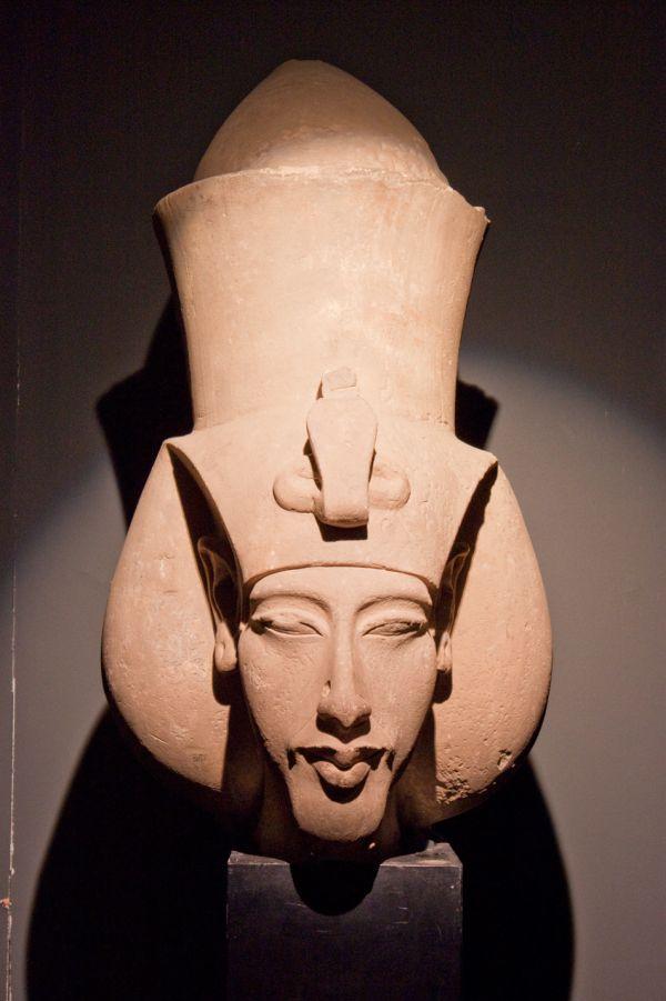 Echnaton als Pharao