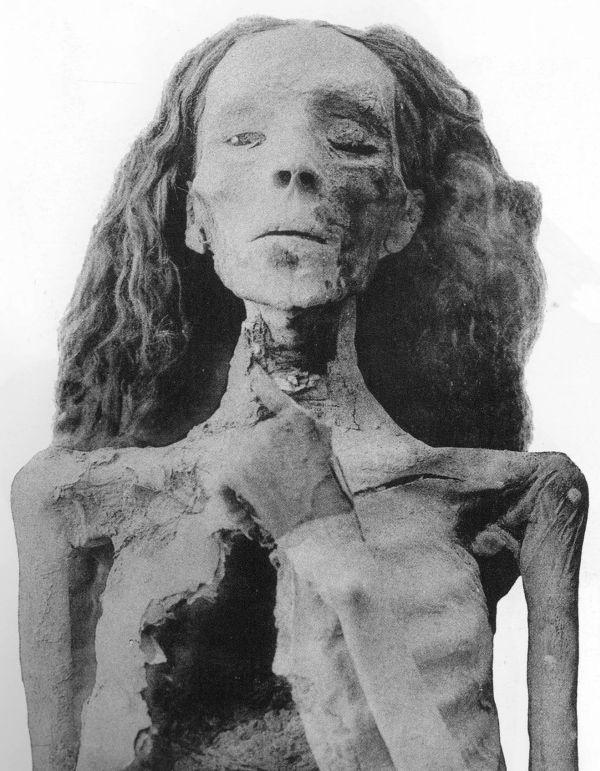 Mumie von Königin Teje.