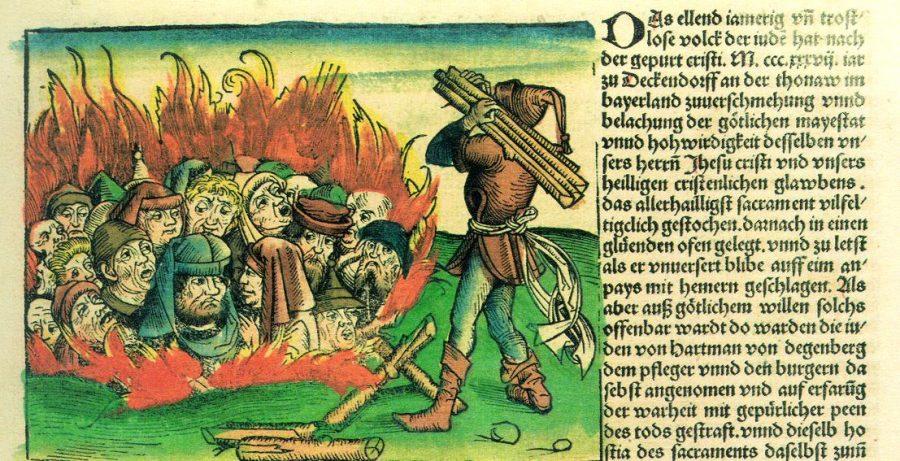 Mittelalterliche Judenverbrennung