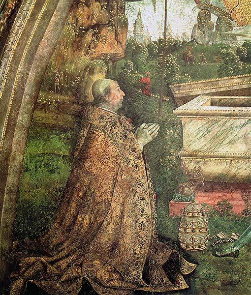 Fresko Alexanders VI. von Pinturiccio (Vatikan)