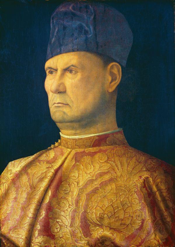 Portrait von Bartolomeo Alviano