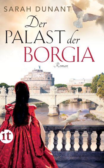 """Cover des Romans """"Der Palast der Borgia"""" von Sarah Dunant."""