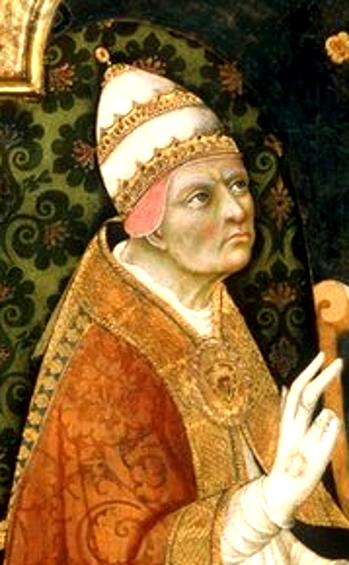 Portrait von Papst Kalixt III.
