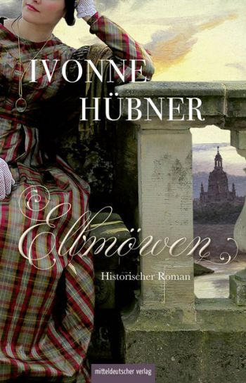 """Cover des Romans """"Elbmöwen"""" von Ivonne Hübner."""