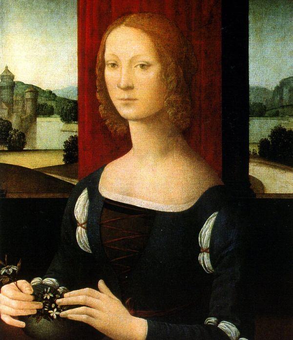 Gemälde von Caterina Sforza.