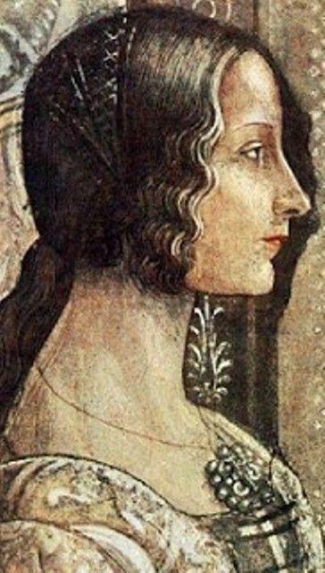 Bildnis von Sancha von Aragón.