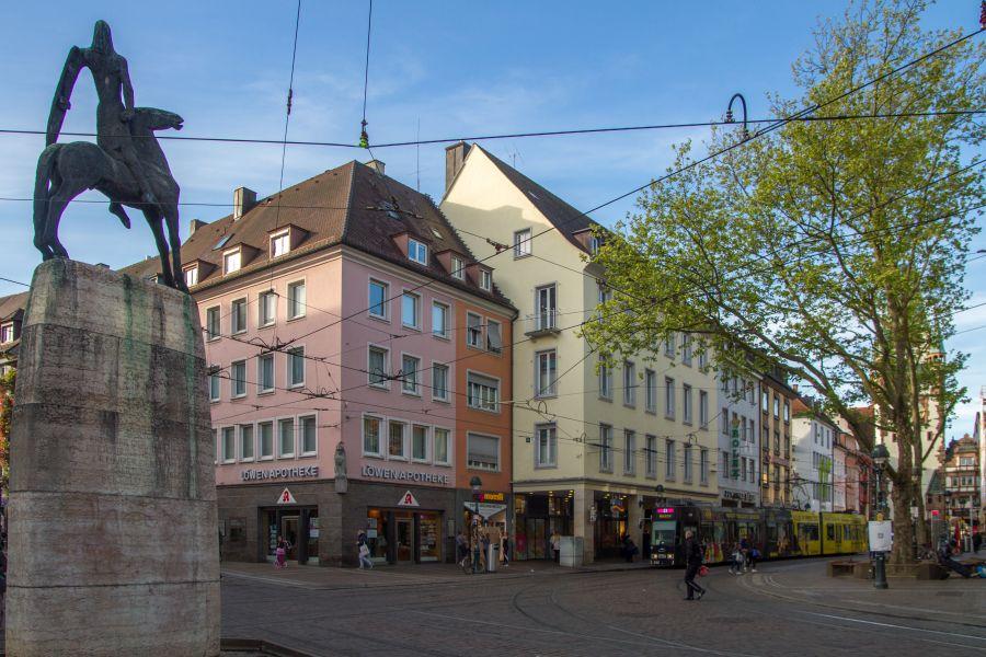 Bertoldsbrunnen in Freiburg im Breisgau