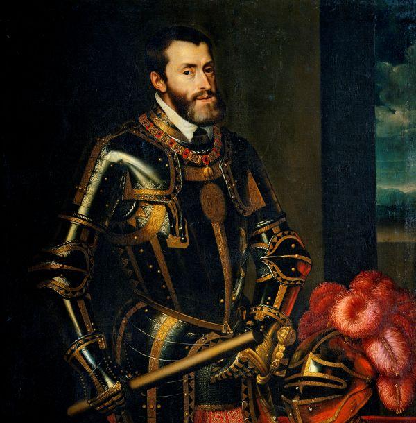 Gemälde des Kaisers Karl V.