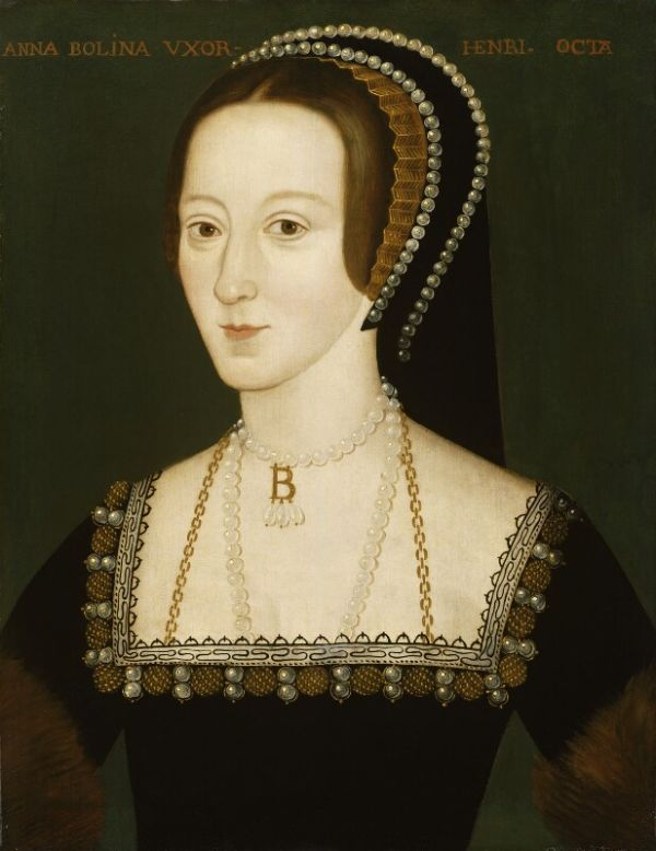 Portrait von Anne Boleyn, National Portrait Gallery.