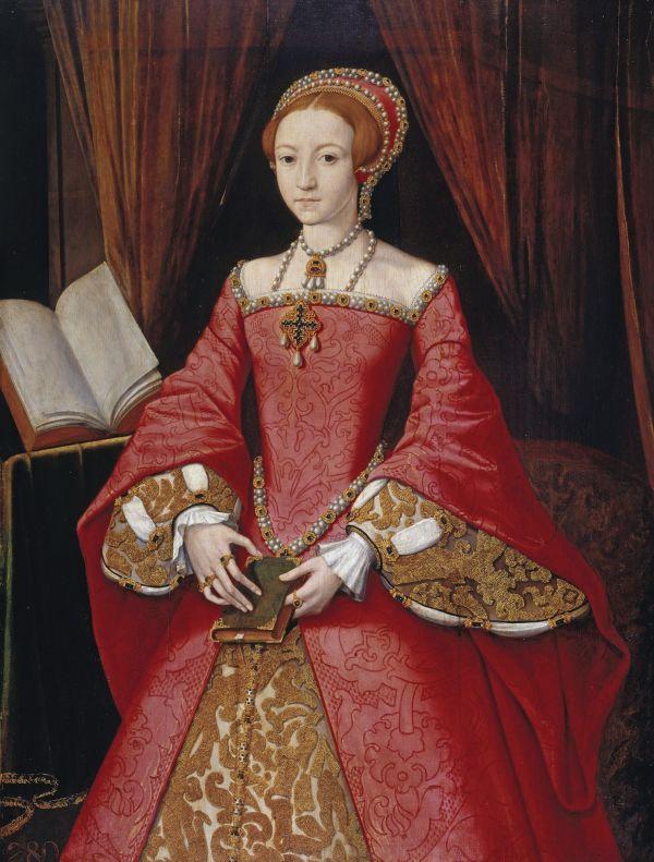 Elizabeth I. von England als Teenager