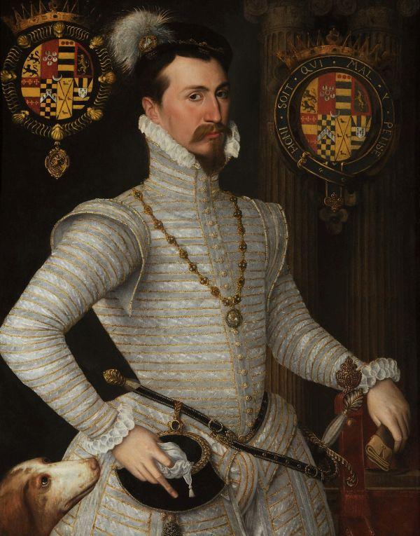 Gemälde von Robert Dudley.