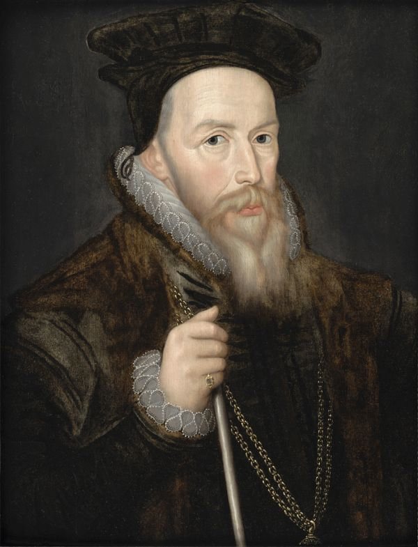 Portrait von William Cecil.