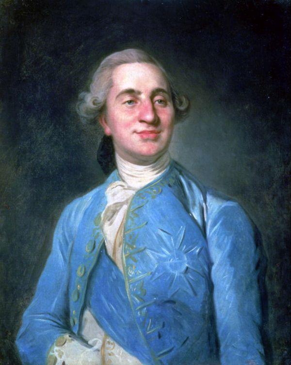 Portrait Ludwigs XVI. von Frankreich im Jahr 1775.