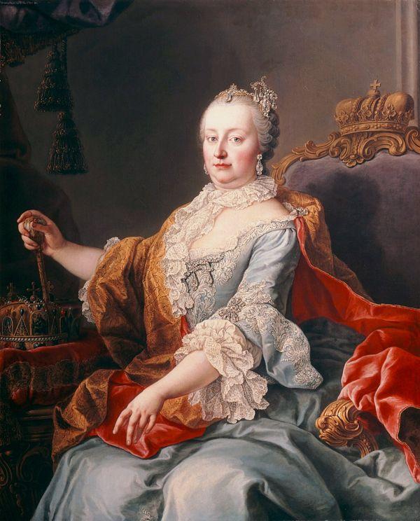 Die österreichische Kaiserin Maria Theresia im Jahr 1759.