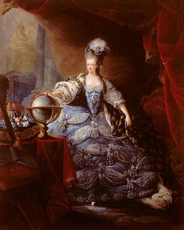 Marie Antoinette im Jahr 1775.