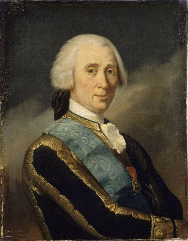 Portrait des Herzogs von Croy.