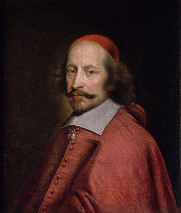 Portrait des französischen Kardinals Jules Mazarin.