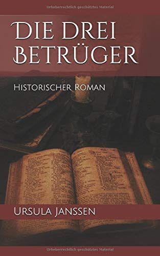 """Cover des Romans """"Die drei Betrüger"""" von Ursula Janssen."""