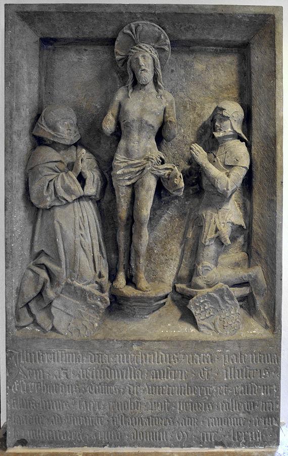 Mechthild von der Pfalz und Eberhard im Bart