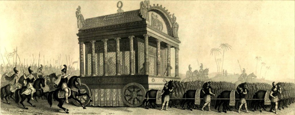 Leichenzug von Alexander dem Großen