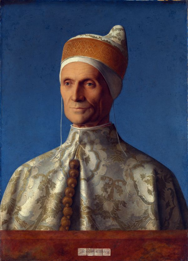 Portrait des venezianischen Dogen Leonardo Loredan, gemalt von Bellini.