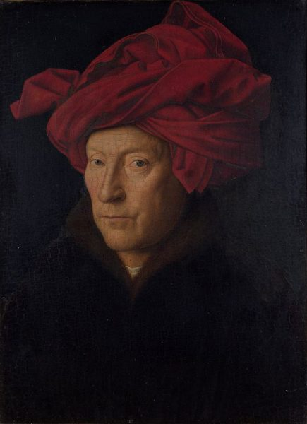 Selbstportrait von Jan van Eyck