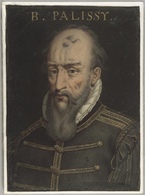 """Ein Portrait von Bernard Palissy, der in """"Der Damenfriede"""" aber noch deutlich jünger ist."""