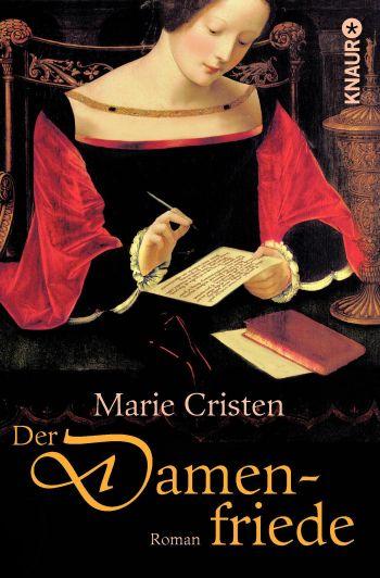 """Cover des Romans """"Der Damenfriede"""" von Marie Cristen."""