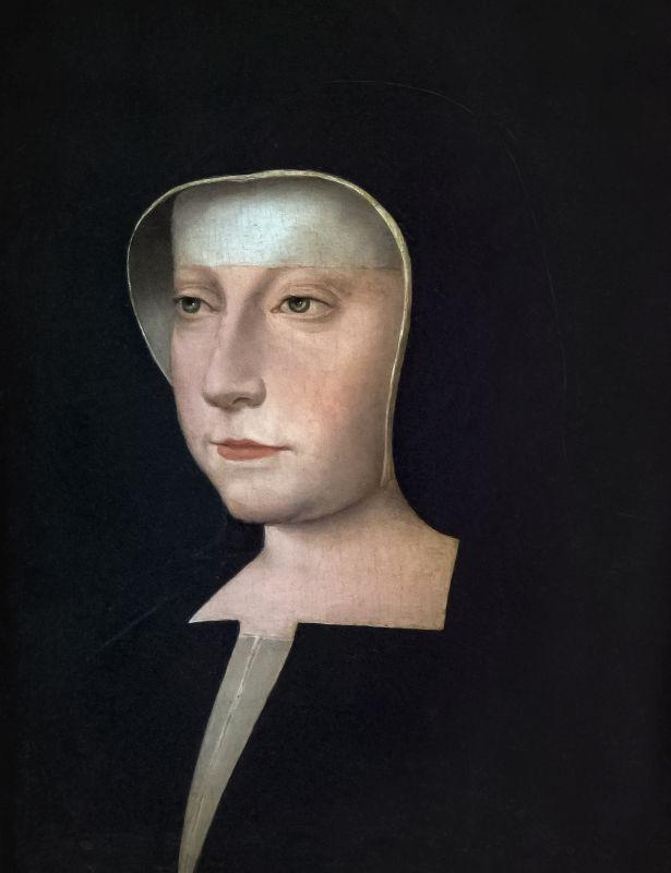 """Portrait von Louise von Savoyen, Protagonistin im Roman """"Der Damenfriede""""."""