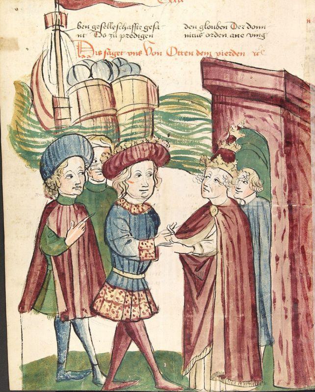 Treffen zwischen Heinrich IV. und Papst Innozenz II.
