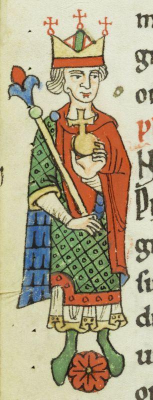 Philipp von Schwaben, der in einigen Texten von Walther von der Vogelweide vorkommt.